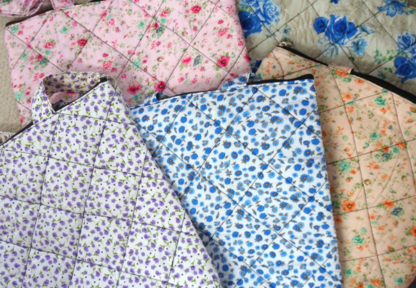 Indian cotton bags flowered